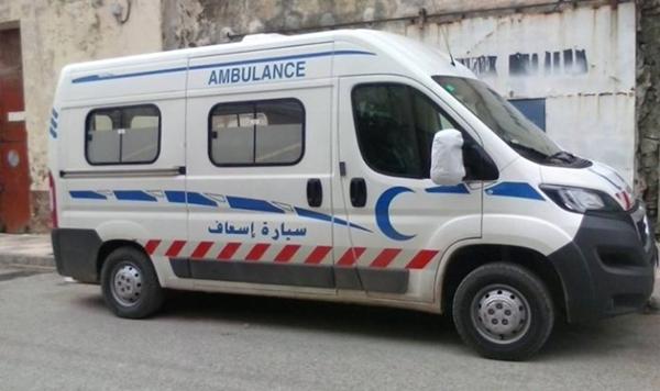 جريح في حادثة سير على الطريق الرابطة بين رأس الماء وقرية أركمان