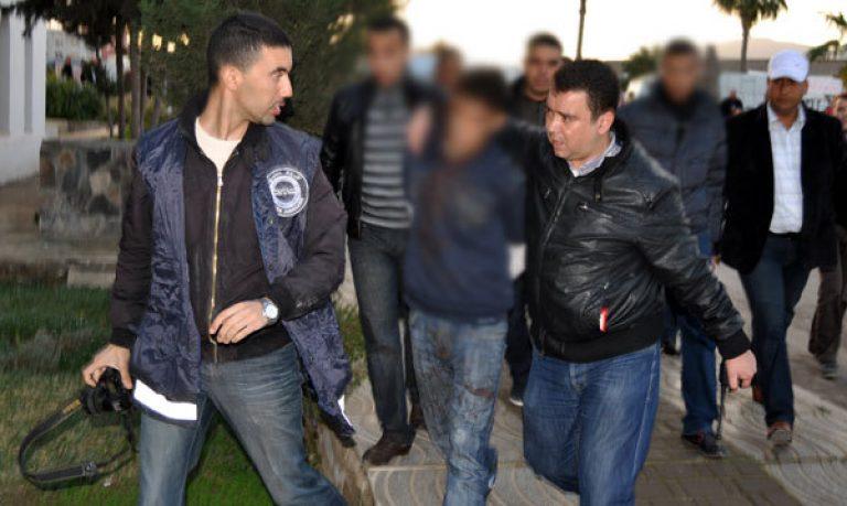 """الناظور: الشرطة تقبض على """"ماوكلي"""" بوبلاو بعدما دوخهم عدة اسابيع"""
