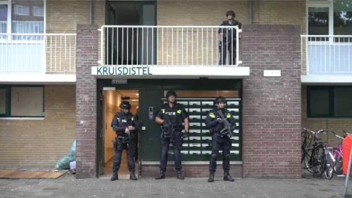 """+فيديو:حملة امنية واسعة بهولندا بحثا عن المتهم الرئيسي في جريمة مقهى """"لاكريم """" لمالكها المليادير الفشتالي ابن إقليم الدريوش"""