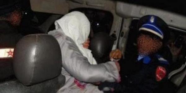 غريب+فيديو: مغامر يدوخ أمن الناظور بعدما اعتقلوا صديقته