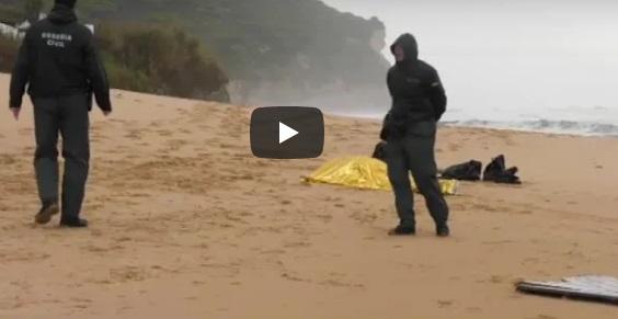 +فيديو:غرق 17 مهاجراً بينهم مغاربة جراء انقلاب قاربين قبالة مليلية