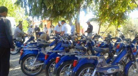 أعوان سلطة بإقليم الناظور متذمرون من طريقة توزيع الدراجات النارية