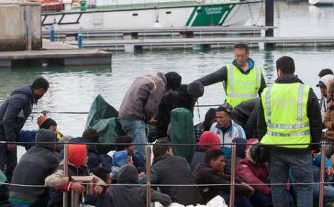 انقاذ المزيد من المهاجرين السريين المغاربة بسواحل الناظور والحسيمة
