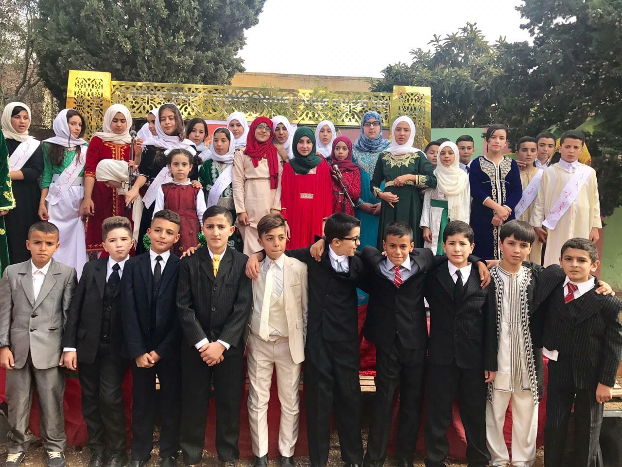 بن الطيب+صور: مؤسسة ابن الخطيب تنظم حفل مدرسي بمناسبة عيد الاستقلال المجيد