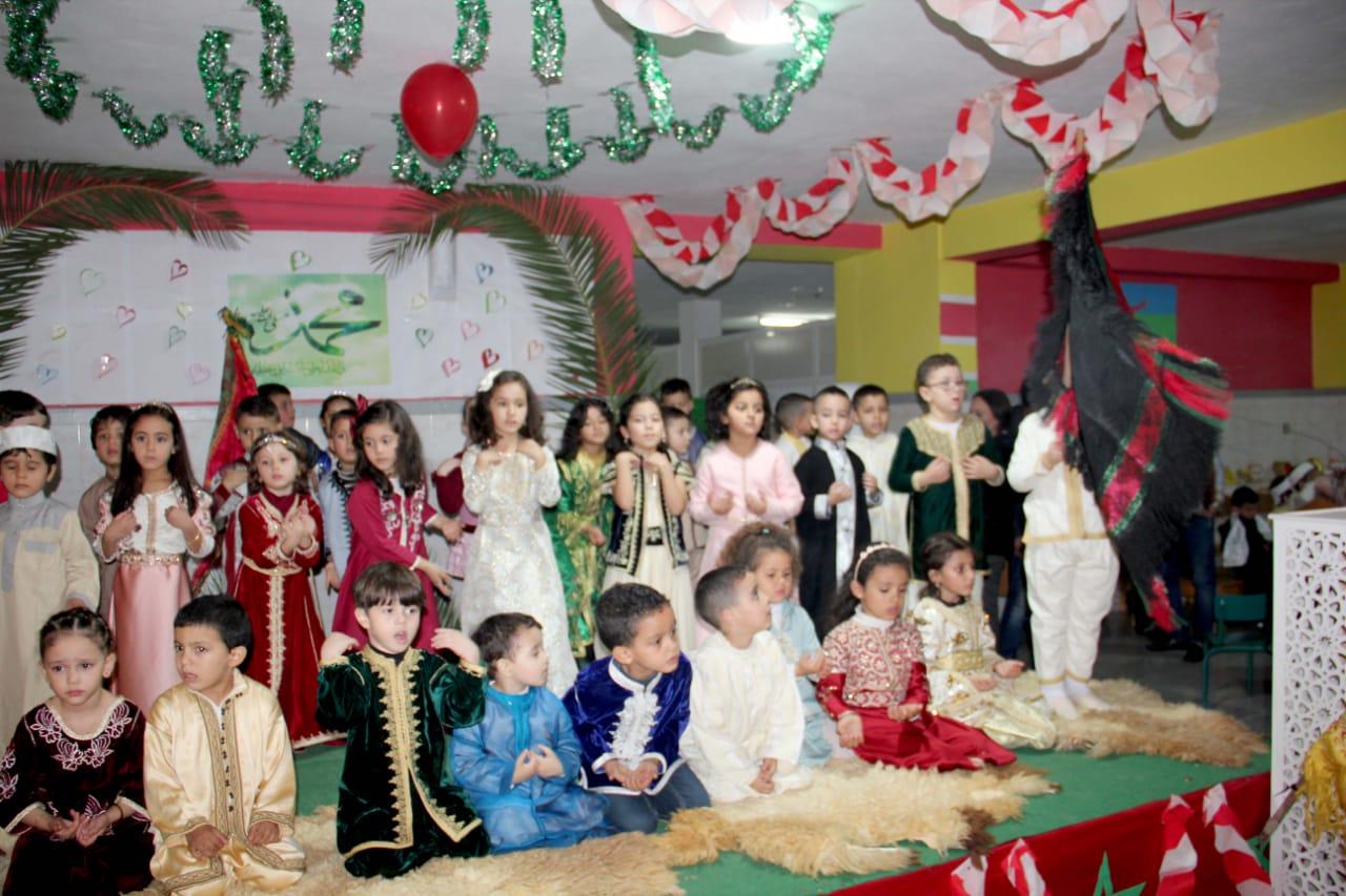 روبورتاج: إحتفالية بهيجة بعيد المولد النبوي بمؤسسة إثري بالناظور