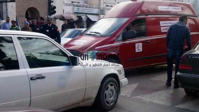 عاجل+صور: حادثة سير وسط الناظور ترسل قاصرا للمستعجلات في حالة خطيرة..