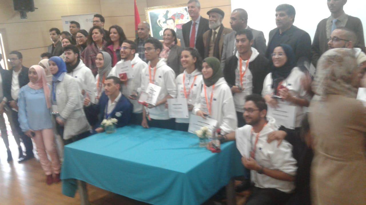 +صور: الناظور تحصد الجوائز الأولى في البطولة الوطنية لفن التناظرالمنظم من طرف جمعية مدرسي علوم الحياة والارض
