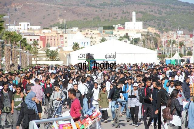 + فيديو وصور : لليوم الرابع الناظور تشهد أقوى تظاهرات التلاميذ لإلغاء الساعة العثمانية