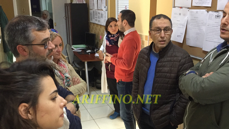 +الصور والفيديو: وفد طبي اسباني يزور مركز علاج السرطان بالمستشفى الحسني بالناظور و يعد بتقديم المساعدات