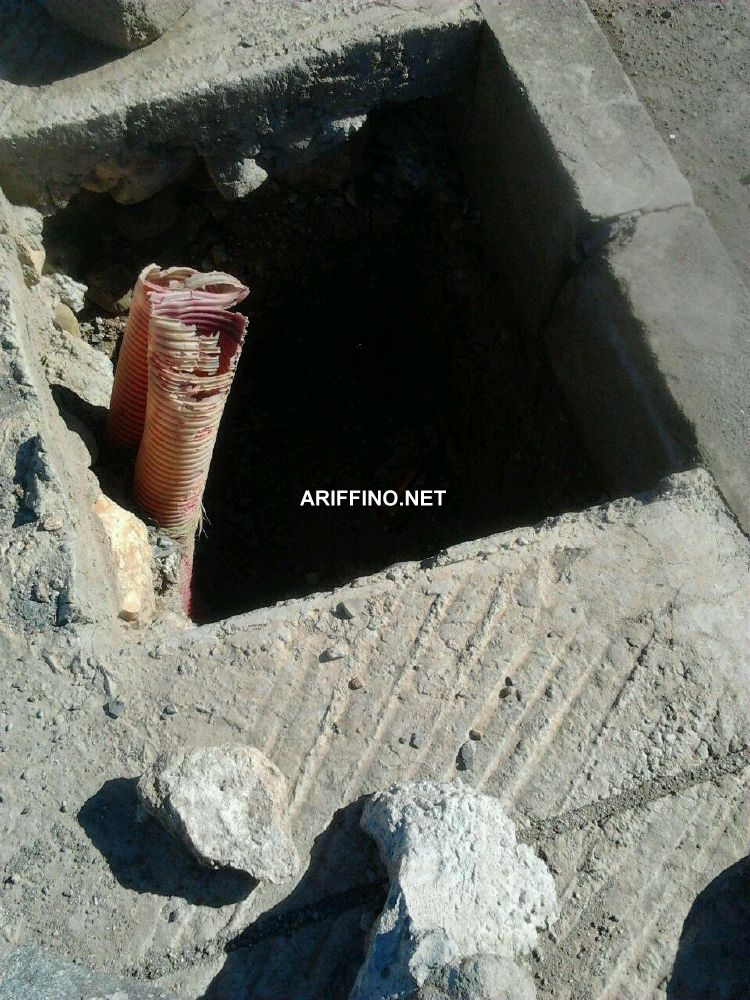 + صور :سلوان كمائن الموت بالشارع الرئيسي لحي العمران.