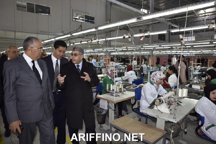+صور: رئيس الشرق يشرف على تدشين وحدة صناعية بتكنوبول وجدة ستشغل ازيد من 316 من اليد العاملة