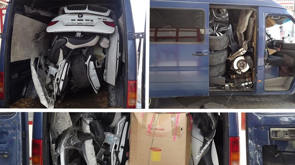 الناظور..حجز شاحنة على متنها كمية كبيرة من العجلات المهربة