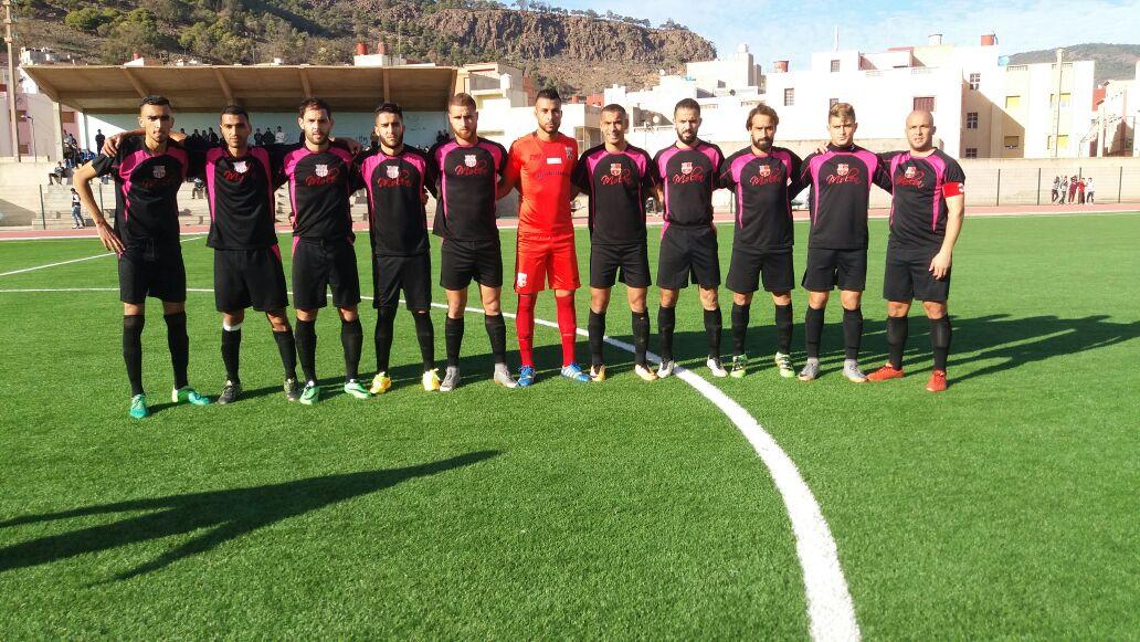 فريق الفتح الرياضي الناظوري في مواجهة نادي نجم شباب البيضاء بالعاصمة الاقتصادية  للمملكة