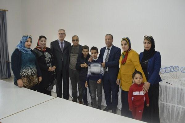 +صور: جمعية ايمن للتوحد بالناظور تحتفل بالذكرى الاولى لافتتاح اقسامها التربوية