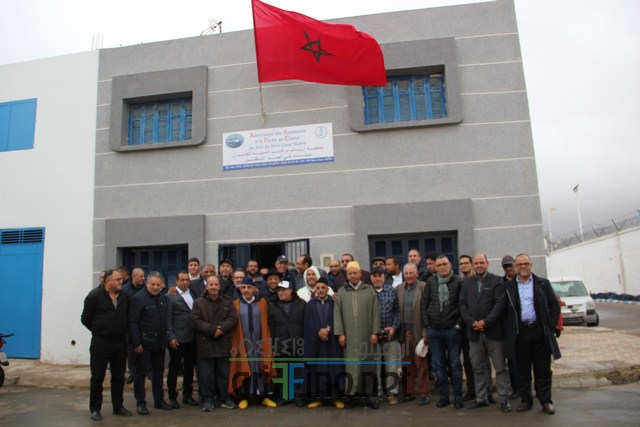 روبورتاج: اجتماع مكتب للكنفدرالية الوطنية للصيد الساحلي ببني انصار بالناظور