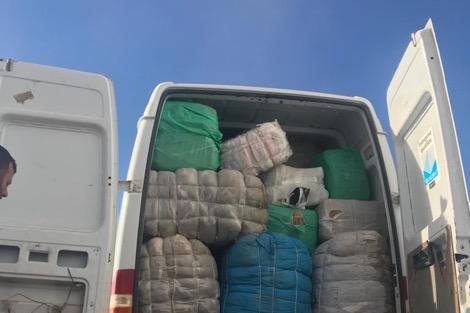 جمارك تطوان تحجز 300 مليون من الملابس المهربة من الناظور و  مليلية