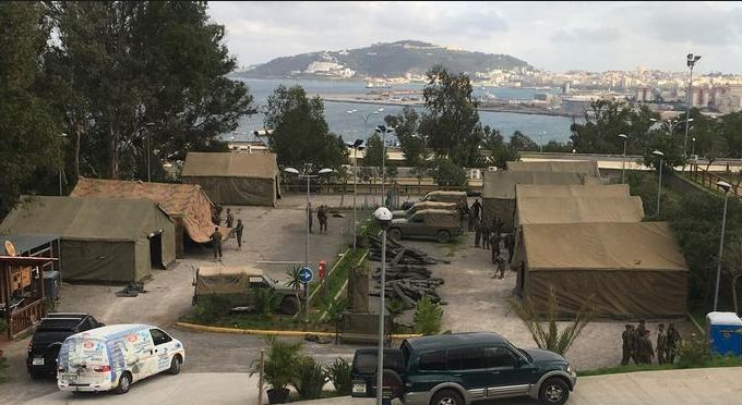 المغرب ينزل الجيش لمراقبة مليلية !