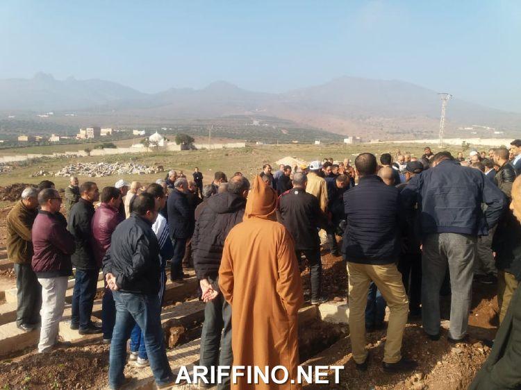 روبورتاج الناظور: جنازة مهيبة في وداع السيد عبد الله السنوسي رئيس الشرطة الادارية
