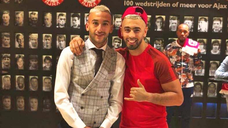 فيديو | زياش و بطل الملاكمة 'قلاح' يدعمان فريقاً كروياً بالدريوش بـ5 ملايين !