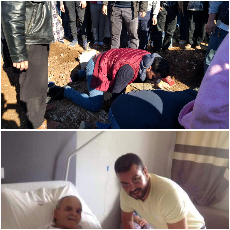 """الناظور: في جنازة مهيبة .. تشييع جثمان عبد الهادي الترحيب الملقب ب""""لوكا"""" بمقبرة سيد سالم (فيديو)"""