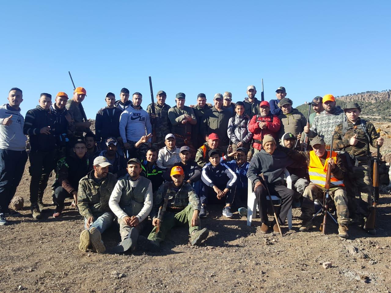 روبورتاج الناظور: جمعية الأخوين للرماية والقنص تنظم إحاشة لقتل الخنزير البري