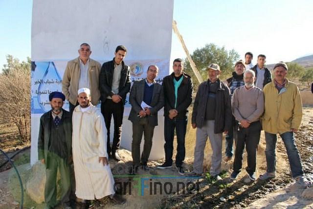 المؤسسة الالمانية المغربية للعمل الخيري تزود ساكنة اغبال جماعة صاكة بالماء الصالح للشرب