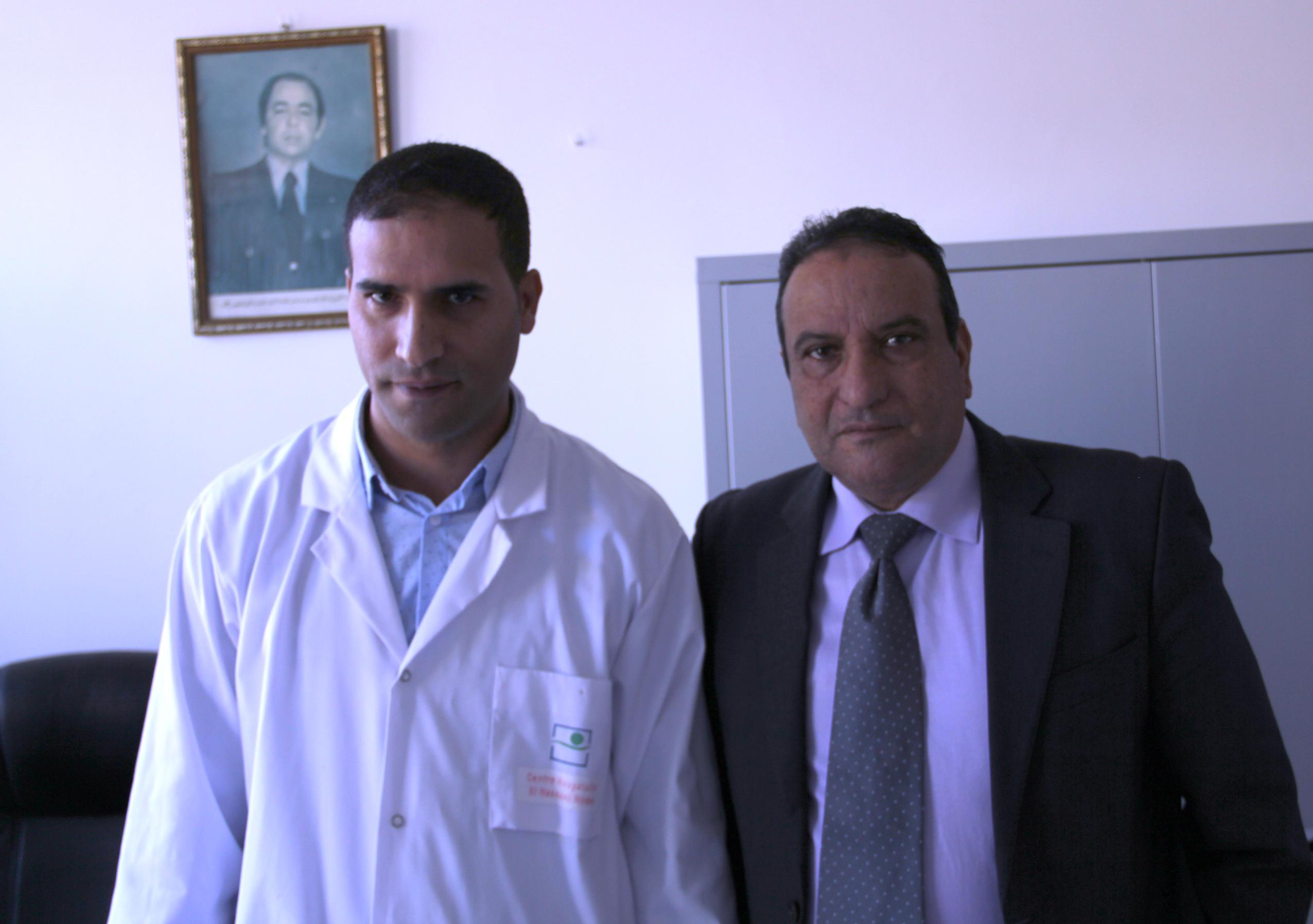 + فيديو وصور العملية : الجراح عبد الله ارزيقي ينجح في اول عملية لجراحة الشرايين المحيطية بالمستشفى الاقليمي بالناظور ..