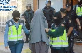 تقارير اسبانية : 35% من النساء المتطرفات والمنتميات لخلايا ارهابية هن مغربيات