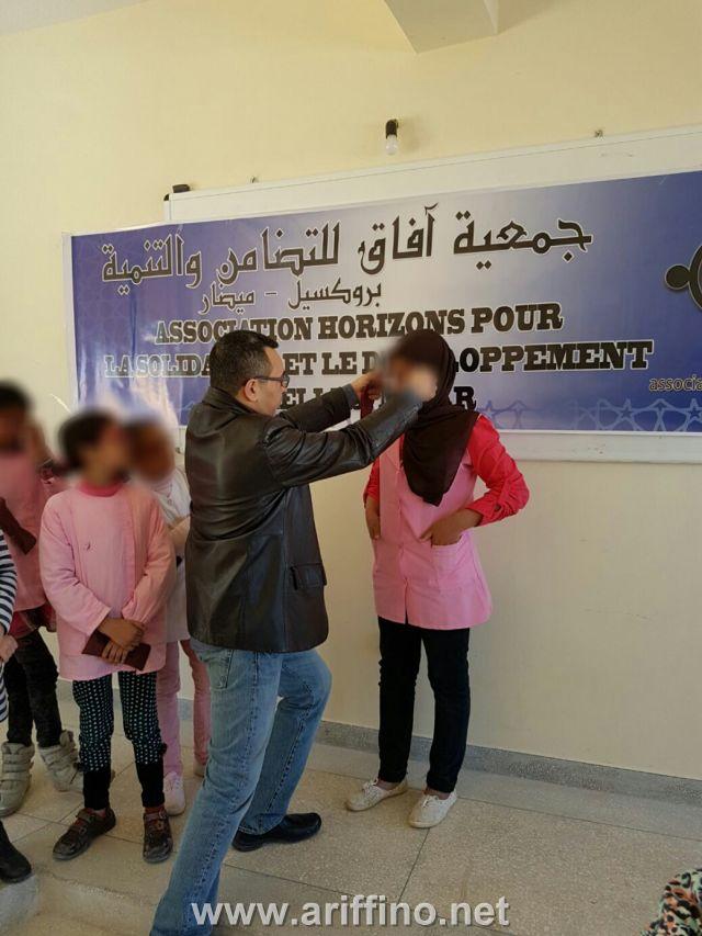 الدريوش…جمعية آفاق تنظم حملة توزيع النظارات الطبية لفائدة تلاميذ ميضار وعين الشفاء