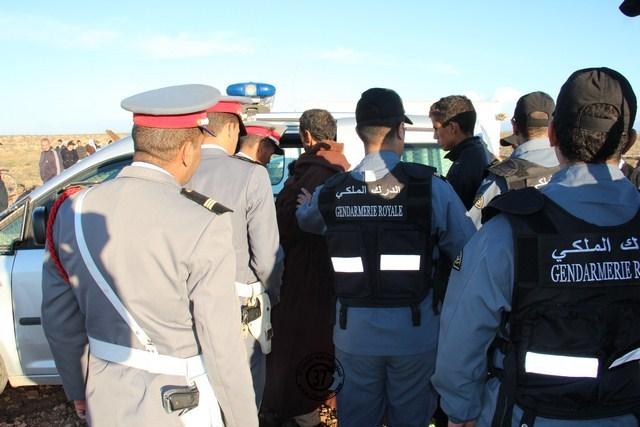 درك فرخانة يوقف « حراكة » جزائريين كانوا يعتزمون الدخول إلى مليلية