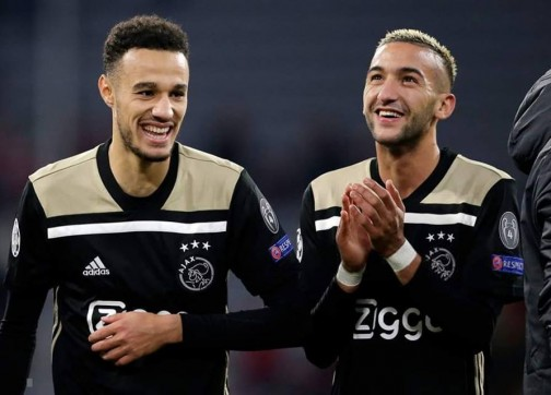 """سبعة """"أسود"""" في قائمة أحسن اللاعبين في هولندا و الريفي زياش يتربع على عرش """"الإيريديفيزي"""""""