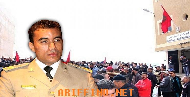 """بالفيديو: اتهامات خطيرة لقائد قيادة إعزانن بإقليم الناظور بخدمة مصالح """"مافيا"""" العقار؟"""