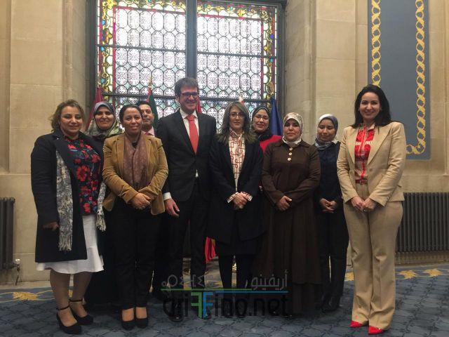 + صور : نائبتا الناظور ليلى أحكيم و ابتسام مراس ضمن وفد البرلمانيات المغربيات في زيارة لاسبانيا لهذا الغرض..