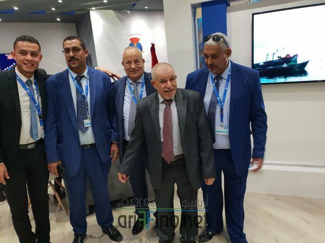 """+صورو فيديو  : بحضور البرلماني  ابرشان افتتاح الدورة الخامسة لمعرض """"أليوتيس""""بأكادير"""