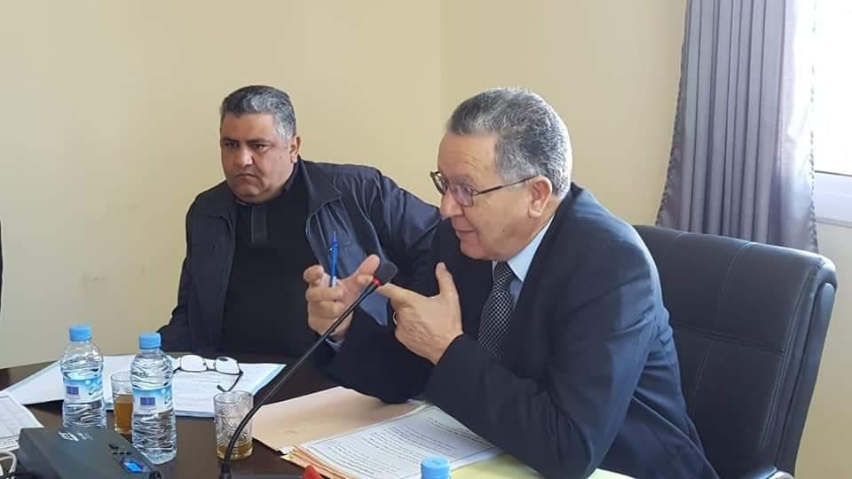 المصادقة بالإجماع على نقاط جدول أعمال دورة فبراير للجماعة الحضرية بن الطيب