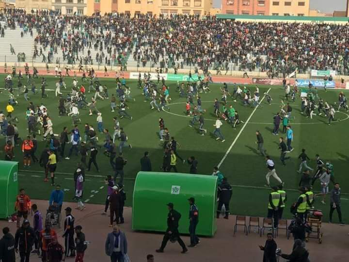 الجامعة المغربية لكرة القدم تصدر آحكام تأديبية قوية في حق ملودية وجدة و نهضة بركان