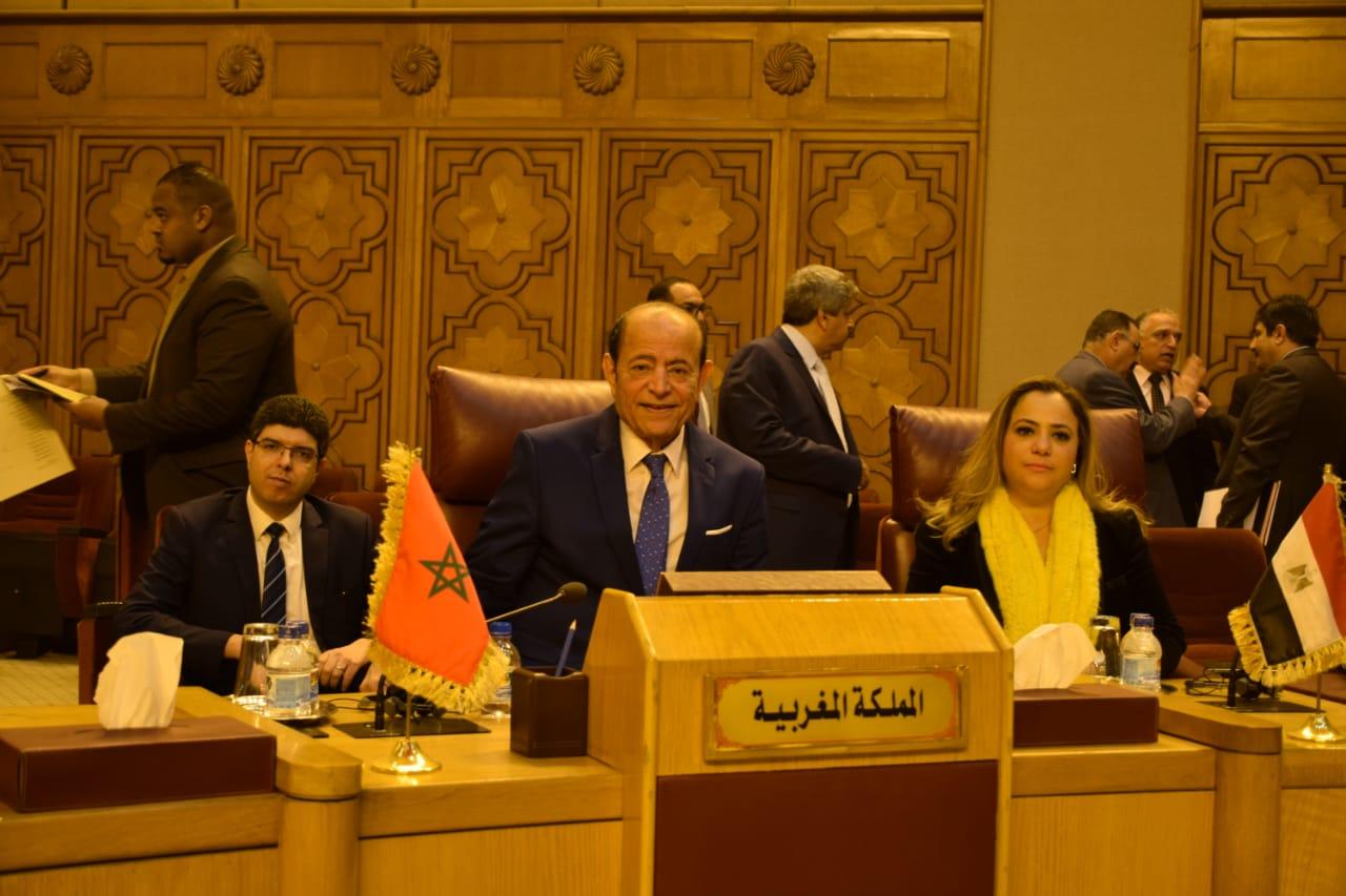 +صور و فيديو: عبد القادر سلامة يترأس وفد مجلس المستشارين في قمة البرلمان العربي بالقاهرة