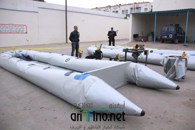 +صور و فيديو: ورشات صناعة قوارب الموت الجديدة بالناظور تستنفر الأمن المغربي والأوروبي