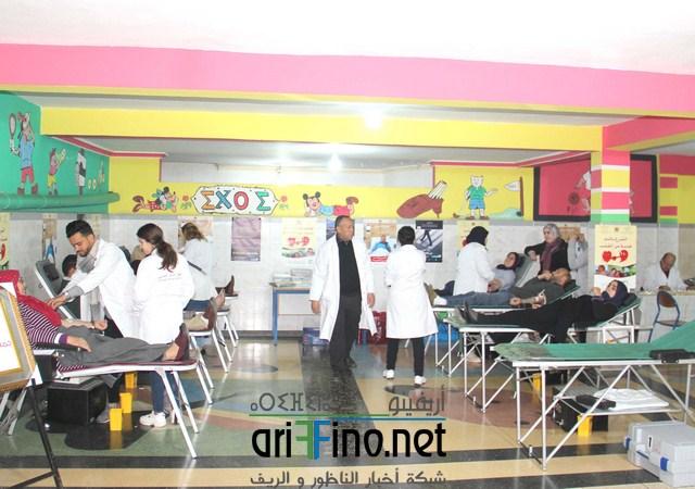 روبورتاج: نجاح كبير لحملة التبرع الدم في نسختها 11 بمعهد إثري بالناظور