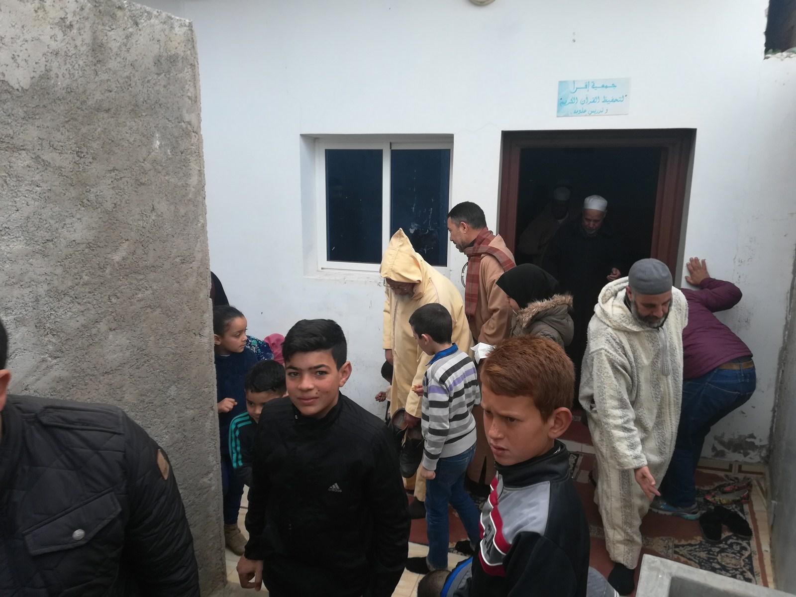 تزغين / الدريوش  : جمعية اقرأ لتحفيظ القران الكريم تنظم لقاء تواصليا لفائدة أباء طلبة حفظة القرآن