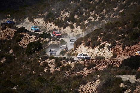 """+صور: سباق """"پاندا الصحراء"""" يربط الناظور بكُثبان مرزوكة"""