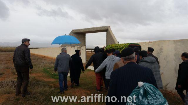 أركمان…تشييع جثمان الراحل الحاج الغادي مسعودي وسط حشد غفير بمقبرة الشط
