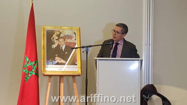 +الصـور … لقاء تواصلي مثمر لسفير المملكة المغربية ببلجيكا مع الجالية المغربية المقيمة بالمنطقة الفلمنكية
