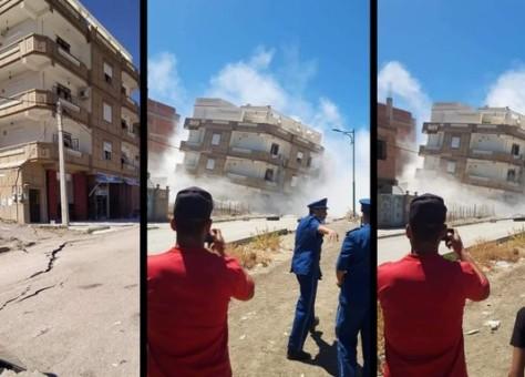 زلزال بقوة 4.9 درجة يضرب شمالي الجزائر..